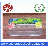 Wholesale Grape Plastic Laminated Slider Ziplock Fresh recycled bottom gusset bags from china suppliers