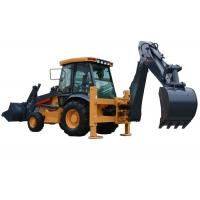 Wholesale 74KW Power Tractor Backhoe Loader 620CH For Construction Project 1.0m3 Loading Capacity from china suppliers