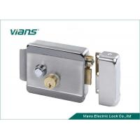 Wholesale Home High Security Electric Rim Lock With Double Cylinder Push Button , 123 X 106 X 35mm from china suppliers