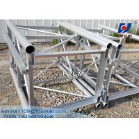 Wholesale Machinery Spare Parts 76*6mm Galvanized Mast Section For Building Hoist from china suppliers