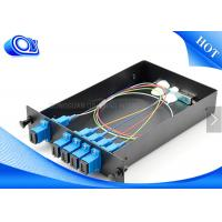 Wholesale Optical Fiber Couplers For Communication , 1 X 4 Fiber Optic PLC Splitter from china suppliers