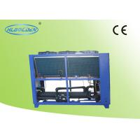 Quality Energy Saving Scroll Type Air Cooled Water Chiller Microcomputer Control for sale