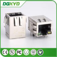 Wholesale single port 10 / 100 base RJ45 PCB connector with LAN Filter for Adsl from china suppliers