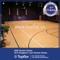 Quality Basketball Court Wood Pattern Flooring for sale