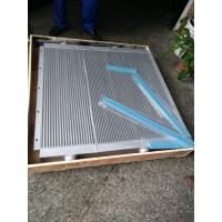Wholesale Silver Aluminum Plate-Fin Sullair Air Compressor Cooler 02250046-596 Air Cooler from china suppliers