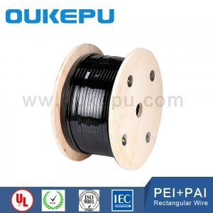 Buy cheap class155 class180 class200 class220 flat enameled aluminum wire from wholesalers