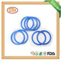 Quality Blue NBR O Ring Rubber Seal Oil Resistance For Machinary With RoHs Report for sale
