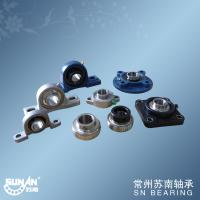 Quality Small Cast Iron Pillow Block Bearing With Set Screws Or Eccentric Locking Collar for sale