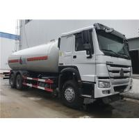 Wholesale 20M3 20000L Bobtail Tanker Truck , HOWO 6x4 10 Wheeler LPG Tanker Truck from china suppliers