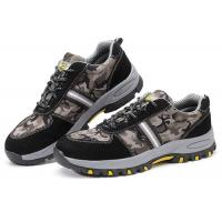 China Customized Lightweight Industrial Safety Shoes , Anti Alkali Casual Safety Shoes for sale