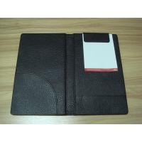 Wholesale Checkbook, log book and Menu PU Hotel Information Folder for Hotel, motel or restaurant from china suppliers