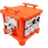 Buy cheap EN60439 4 Portable Power Distribution Unit, UV8 Resistance Spider Electrical Box from wholesalers