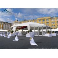 Wholesale Multi-Sided White Width 10m  Sunproof Marquee Tent PVC Fabric from china suppliers