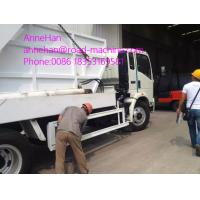 Wholesale White Garbage Compactor Truck / City Cleaning Waste Management Garbage Truck 4x2 12 to 14 CBM from china suppliers