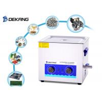 Buy cheap Mechanical Table Top Ultrasonic Cleaner 30L 500 Watt For Marine Engine Parts from wholesalers