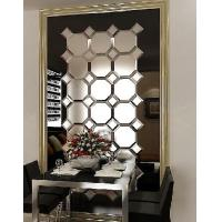 Wholesale frame mirrors glass on glass mirrors octagon spell mirror from china suppliers