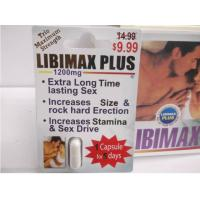 Wholesale Libimax Plus 1200mg Natural Herbal Enhancment Pills For Mens from china suppliers