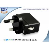 Wholesale Black White Bright Black 100-240V 5V 500mA USB Wall Charger for Audio Equipment from china suppliers