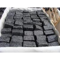 Wholesale Natural Black Granite Cobblestone Paving from china suppliers