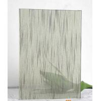 Wholesale 12mm Tempered Laminated Patterned Glass Panels Fire Proof Guard Against Theft from china suppliers