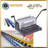Wholesale A4 Size Comb Binder Machine 20 Sheets Full Metal Spiral Machine Binding Equipment from china suppliers