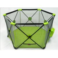 Wholesale Mesh Lightweight Portable Baby Play Yard / Super Baby Playpens from china suppliers