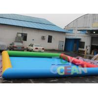 Wholesale 6 X 8m Inflatable Water Game Square Inflatable Swimming Pool For Amusement Park from china suppliers