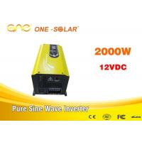 Wholesale Low Frequency 50hz / 60hz Off Grid Solar Inverter Dc Converter 2kw 24v 220v from china suppliers