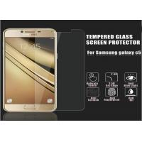 Wholesale Toughened Glass Golden Samsung C5 Screen Protector Film 2.5 D Impact Resistant from china suppliers