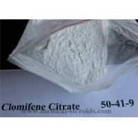 Wholesale CAS 50-41-9 Anabolic Steroid Articles Raw Powder Clomiphene Citrate for female infertility Clomid from china suppliers