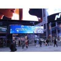 Wholesale P10 P16 High Resolution LED Advertising Screens , Large Outdoor LED Billboard from china suppliers