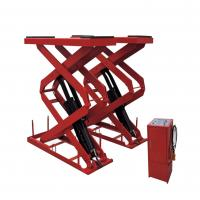 Wholesale Electric SCISSOR Hydraulic Auto Lift , Garage In-ground Scissor Lift from china suppliers