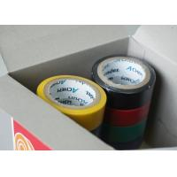 Wholesale 120 Mic Coated Adhesive Insulation Tape With Rubber Adhesive PVC Coloured from china suppliers