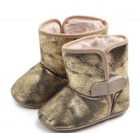 China soft sole baby walking shoe baby girl boots  special design toddle lovely styles winter boots on sale