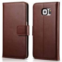 Quality Samsung Galaxy Note 5 PU Folio flip phone cases Wallet Leather Stand Cover with Card Hoder for sale
