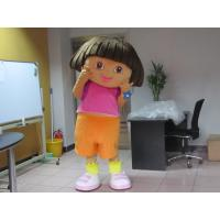 Buy cheap Kids Girl Cartoon Character Dora Mascot Costumes  from wholesalers