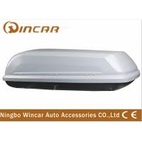 Wholesale Single Open Black Car Roof Boxes in ABS Material 380L Capacity , 3mm ABS board from china suppliers