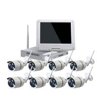 Wholesale Surveillance WIFI NVR KIT 10.1 Inch HD Wifi Wireless Security Recorder Camera from china suppliers