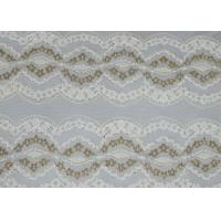 Wholesale Underwear Metallic Lace Fabric Nylon Polyester Spandex Material CY-LW0798 from china suppliers