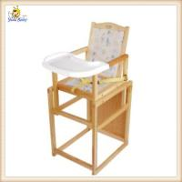 Wholesale Environmental Portable Baby Feeding Chair With Safety Belt / Desk from china suppliers