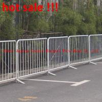 Wholesale 304 Stainless steel Crowd Control Barriers Pedestrian Barriers Stockade Fence from china suppliers