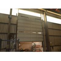 Wholesale Wind resistance industrial sectional overhead doors for steel single sheet panel electric lifting from china suppliers