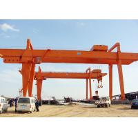 Wholesale Heavy Duty Electric Double Beam Gantry Crane For Loading And Unloading from china suppliers