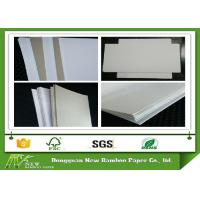 Wholesale Environment one sie coated Duplex Board grey back in roll / sheets from china suppliers