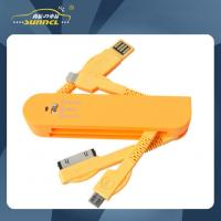 Wholesale Swiss Army Knife Shape Portable 4 in 1 USB Power Charger with Micro USB from china suppliers