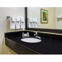 Buy cheap Black Galaxy Kitchen Granite Slab Countertops Cost Gold Copper Colored Specks from wholesalers
