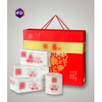 Wholesale Business Gifts Box Of Soft Hand Towels / Paper Handkerchief / Facial Tissue from china suppliers