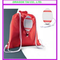 Wholesale Rugby drawstring backpack bag, Ball shape Drawstring backpack, Rugby drawstring bag from china suppliers