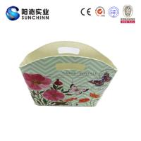 Muticolored PU Leature Printing Magazine Holder/ Magazine Basket/Container /Handbag/Wooden Box for Storage