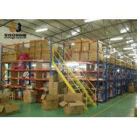 Wholesale Boltless / Rivet Shelving Industrial Mezzanine Floors Surface Smooth 2m Height from china suppliers